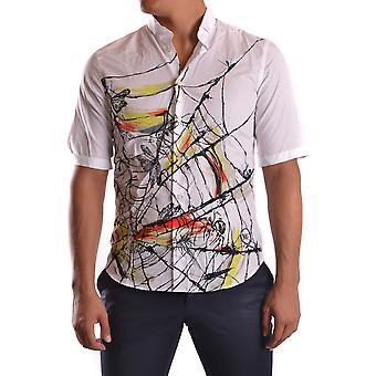 Mcq Door Alexander Mcqueen Ezbc053008 Men's White Cotton Shirt