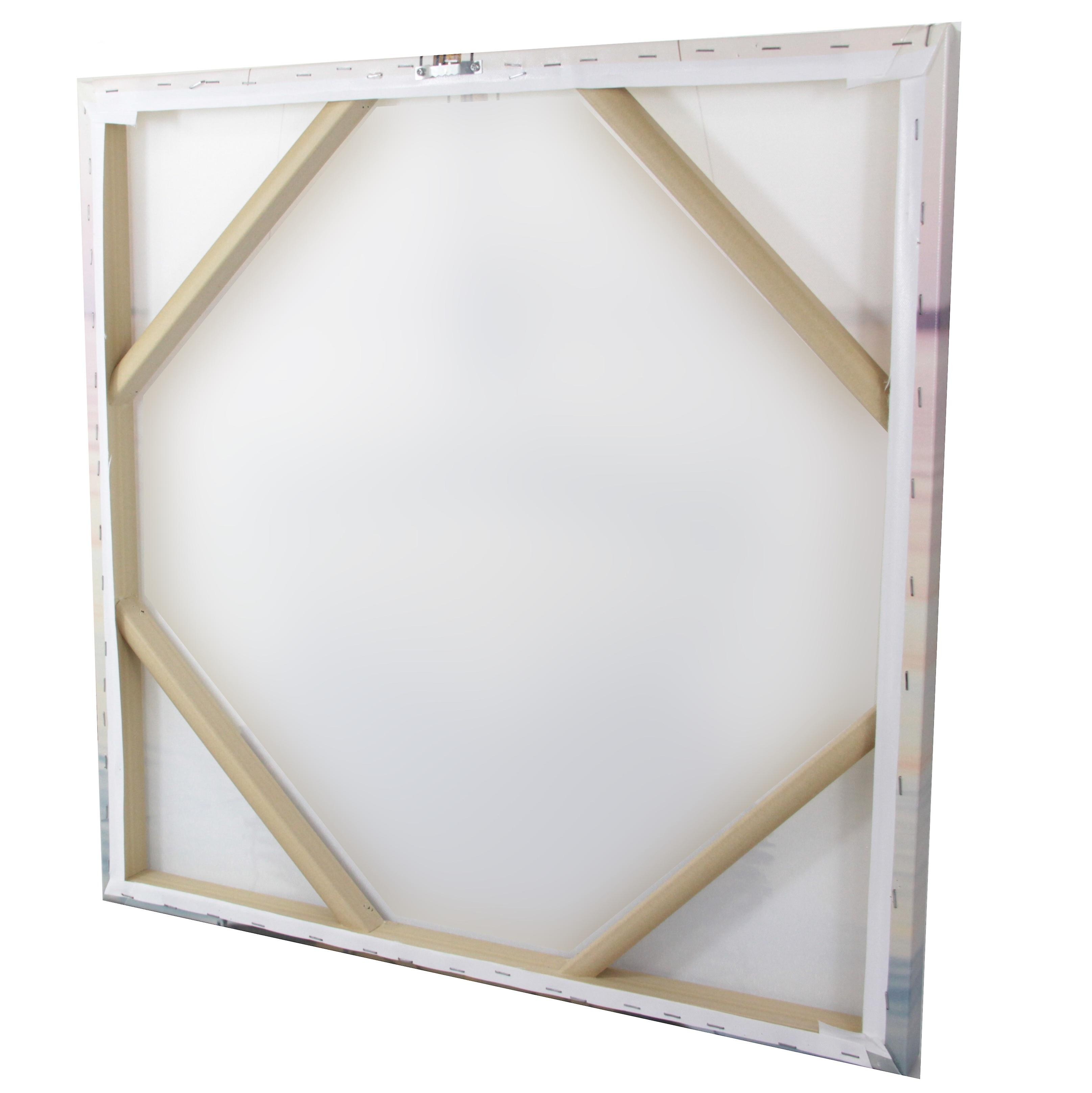 Photo Canvas Seashore, Wall Art 90 x 60 cm Attached to Real Wooden Framework