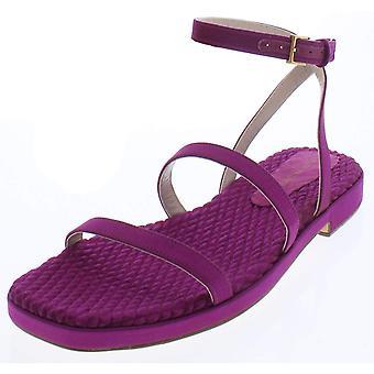Stuart Weitzman Womens Quinn Open Toe Casual Ankle Strap Sandals