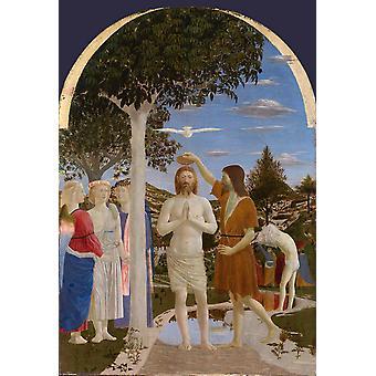Gallery, London baptizes Christs,Piero della Francesca,60x40cm