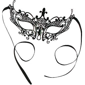 Elegant Laser Cut Mask - Small For Masquerade