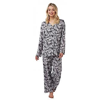Camille Camille Womille Womens Floral gedruckt Viscose Pyjama