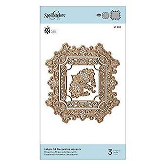 Zauberbinder Etiketten 59 dekorative Akzente sterben (S4-880)