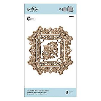 Spellbinders Labels 59 Decorative Accents Die (S4-880)
