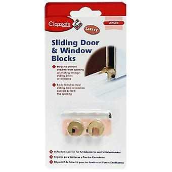 Clippasafe hjem sikkerhet glidende vindu & dør blokker