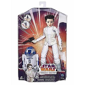 Star Wars Forces of Destiny: Princess Leia & R2D2, doll 28 cm