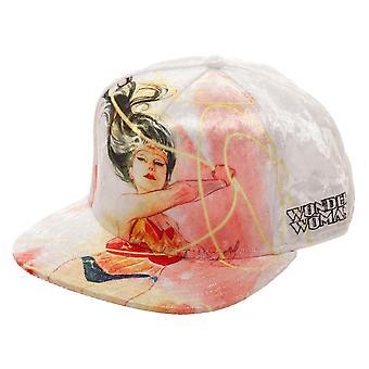 Baseball Cap - Wonder Woman - Velvet Snapback New sb5w82dco