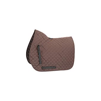 Shires Quilted finalidade geral Saddlecloth-Brown