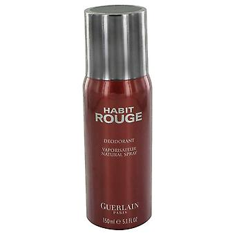 Habit rouge deodorant spray by guerlain   464060 150 ml