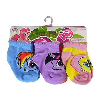 Socks - My Little Pony - Toddler Girls 6Pack 6 pairs 12-18M M02621B