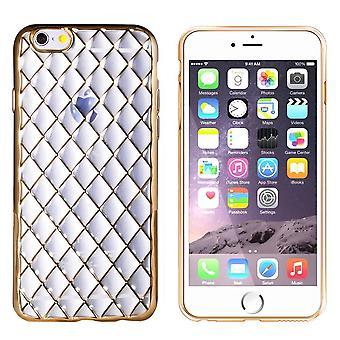 iPhone 6 en 6S Hoesje Goud - CoolSkin Diamond