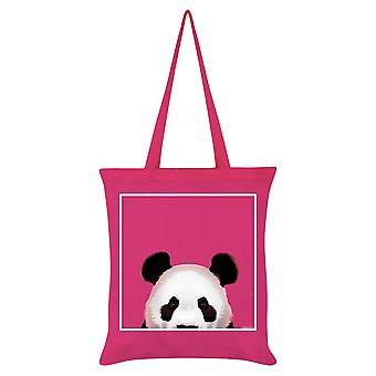 Inquisitive Creatures Panda Tote Bag