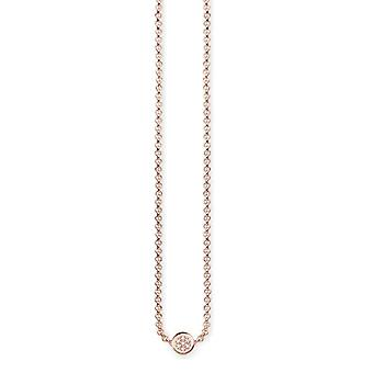 Thomas Sabo Necklace with Donna vermeil pendant - D_KE0003-923-14-L45v
