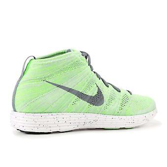 Nike Womens Lunar Flyknit Chukka Fabric Low Top Lace Up Running Sneaker