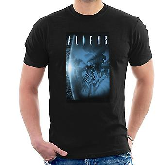 Aliens Xenomorph flare mænd ' s T-shirt