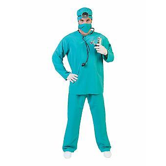 Kirurgi lääkäri miesten puku sairaanhoitaja patologi miesten puku