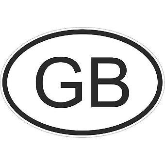 Aufkleber Aufkleber Aufkleber Aufkleber Flagge Oval Code Land Auto Großbritannien Britische Gb