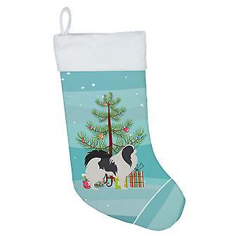 Japanilainen leuka hyvää joulua puu joulu sukat