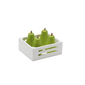 Ovocná krabice dětská koncepce hruška