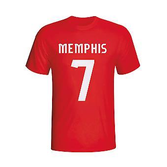 Memphis Depay Psv Hero T-shirt (red) - Kids