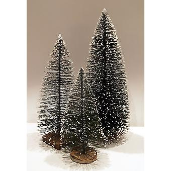 Crib Accessories Crib Stable Nativity Set Christmas Crib Set of Fir Tree Fir Trees with Snow