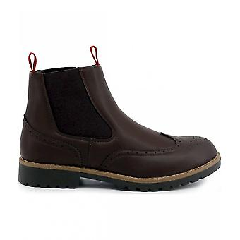Duca di Morrone - Shoes - Ankle boots - WILFRED_DARKBROWN - Men - saddlebrown - 40