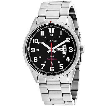 Roberto Bianci Men's Ricci Black Dial Uhr - RB70995