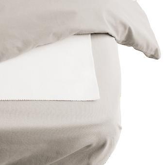 Protector de colchón plano Hippychick algodón