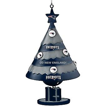 New England Patriots NFL Tree Bell Ornament