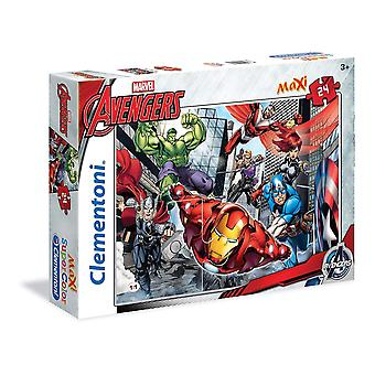 24pc Maxi Puzzle - Die Avengers Spielzeug