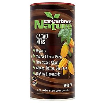 Creative Nature, Organic Cacao Nibs, 300g