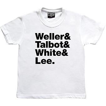 Der Style Council Line-Up weiße Frauen's T-Shirt
