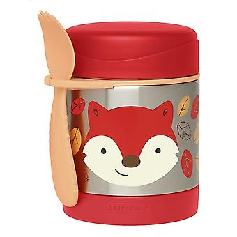 Skip Hop Zoo Thermos Food Jar Fox