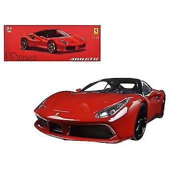 Ferrari 488 GTB Red Signature Series 1/18 Diecast Modellauto von Bburago