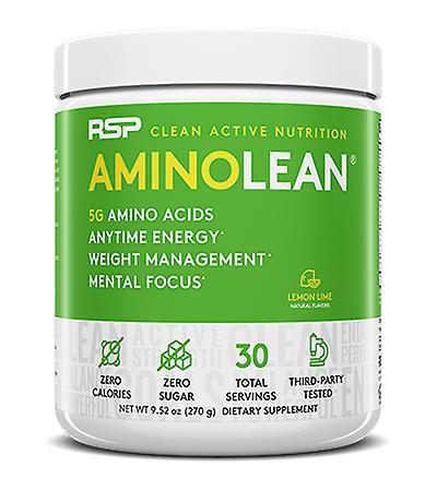 Rsp aminolean - pre-workout energy, fat burner powder, amino acids, recovery, lemon lime