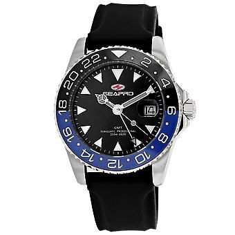 Seapro Men's Reloj de marcación negro - SP0123B