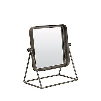 Light & Living Mirror 32x18x34cm Tapoe Antique Zinc