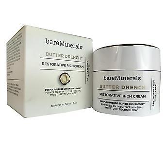 Bareminerals beurre drench réparatrice riche crème pour le visage 1,7 oz