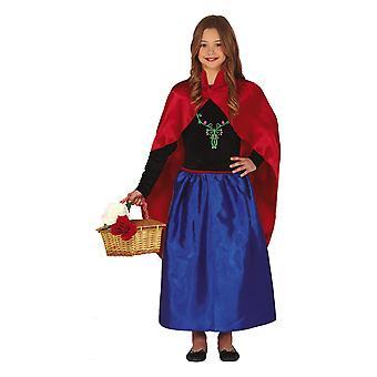 Meisjes Childrens Snow Princess Fancy Dress Kostuum