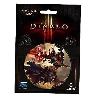 Diablo III Wizard Class Sticker