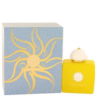 Amouage الشمس المشرقة من قبل Amouage Eau De Parfum Spray 3.4 أوقية / 100 مل (النساء)