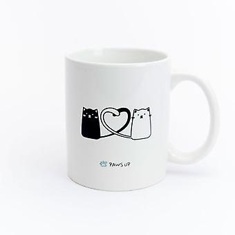 Paws Up Mug Cat Love (PetLovers)