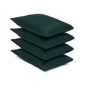 Green Water Resistant Tissu Garden Game Sports PE Sensory Juggling Bean Bags