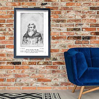 Amigo Szinyei Merse - Szent Gllert Poster impressão giclée