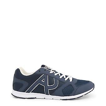 Armani Jeans Original Men All Year Sneakers Blue Color - 58404
