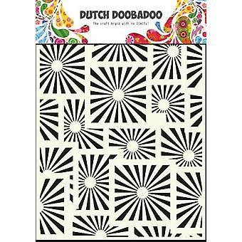 Dutch doobadoo Dutch Mask Art stencil Squares - A5 470.715.012