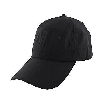 Summer Cap Cap Mesh Holes Black