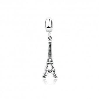 Charm Pendentif En Argent  Belle Tour Eiffel - 5204