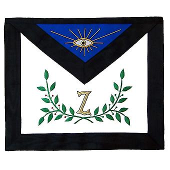 Masonic aasr 4th degree apron hand embroidered
