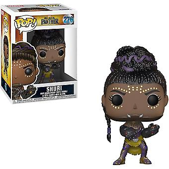 Funko Pop Marvel: Black Panther Shuri Collectible Figuur + Pop Protector
